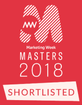 Marketing Week Shortlisted 2018